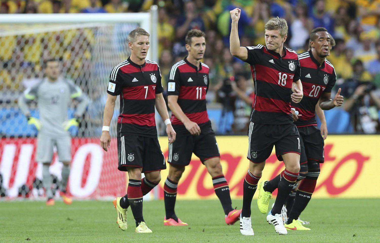 7:1 Deutschland Brasilien