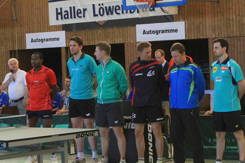 Schwäbisch Hall Vize Olympiasieger Boll Beim Tischtennis