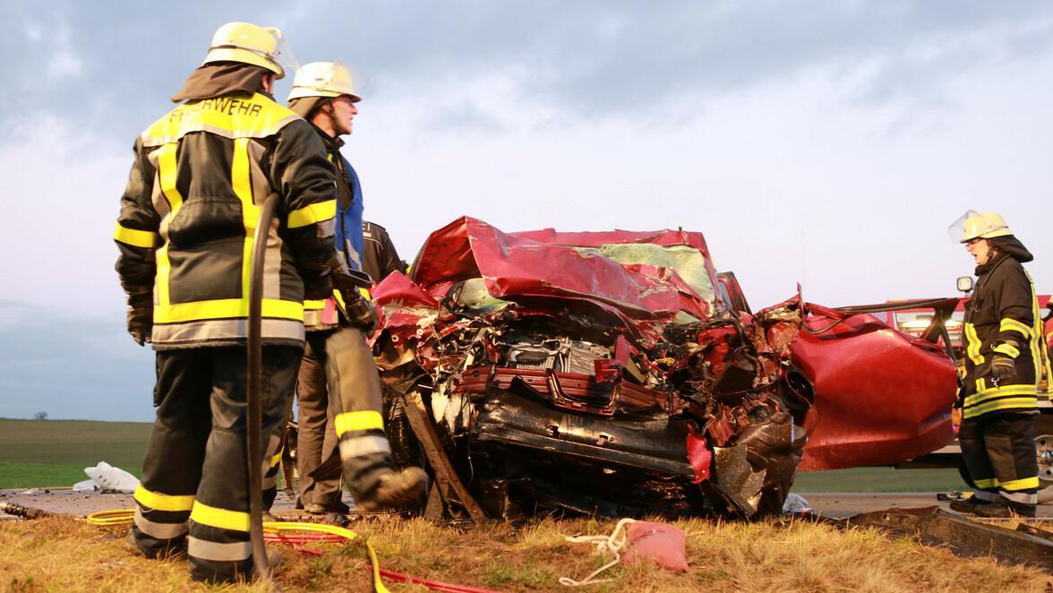 Unfall Auf B10
