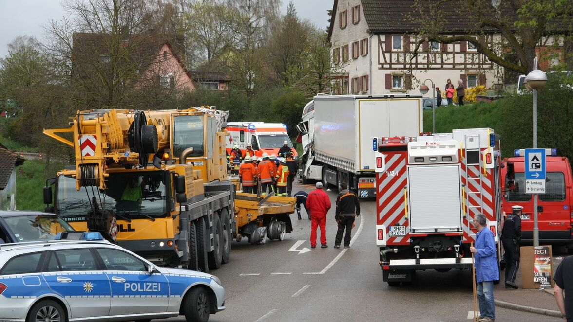 Unfall Rot Am See