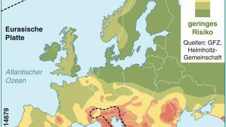 erdbeben italien 2012 karte Erdbeben: Chronik der Erdbeben in Italien | Südwest Presse Online