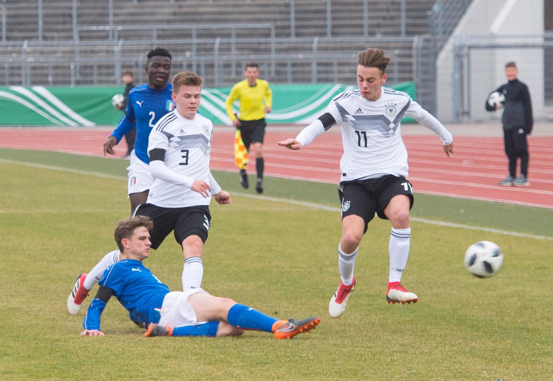 Fußballspiel Deutschland Italien
