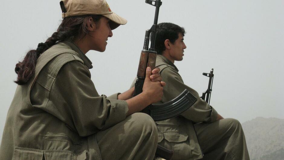 Türkische Luftwaffe bombardiert PKK im Nordirak