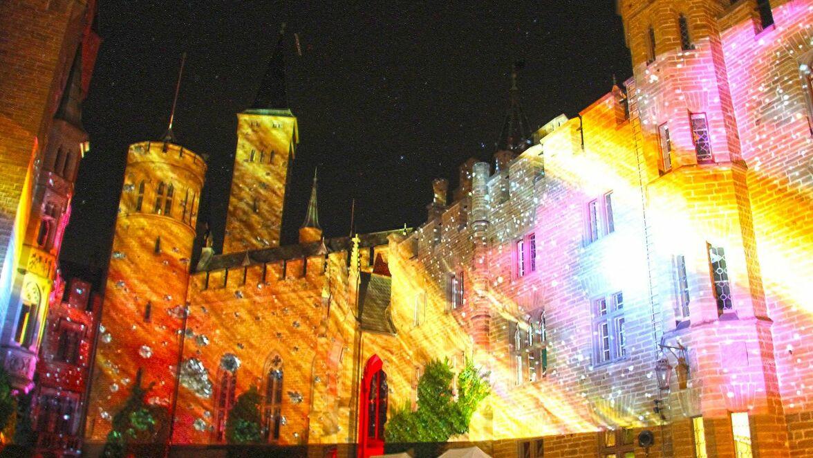 Burg Hohenzollern Unterm Nachtlichen Strom Der Perseiden Sudwest