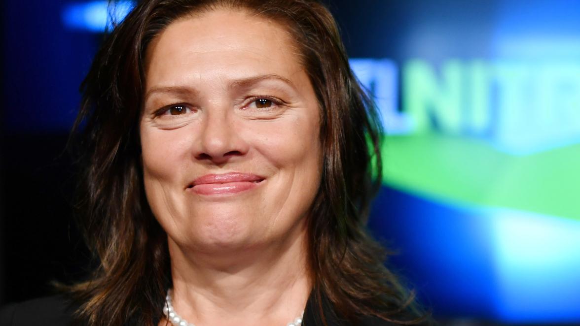 Moderatorin Stefanie Tücking Formel Eins