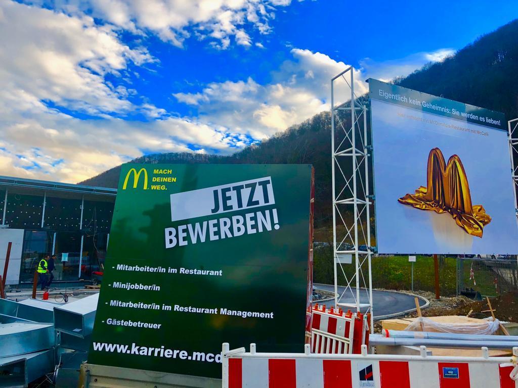 Bad Urach: McDonald's eröffnet in Bad Urach
