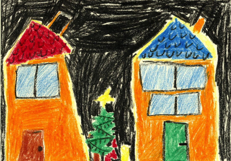 Weihnachtsbilder Kamin.Bildergalerie 24 Weihnachtsbilder Von Kindern Aus Der Region