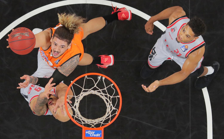 Basketball Ulm Bamberg
