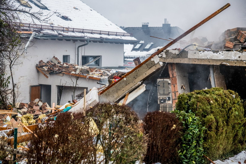 explosion donzdorf