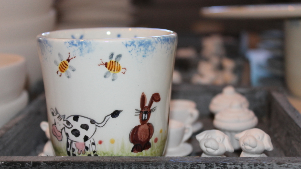 Ulm Keramik Bemalen Bei Farbenfroh Sudwest Presse Online