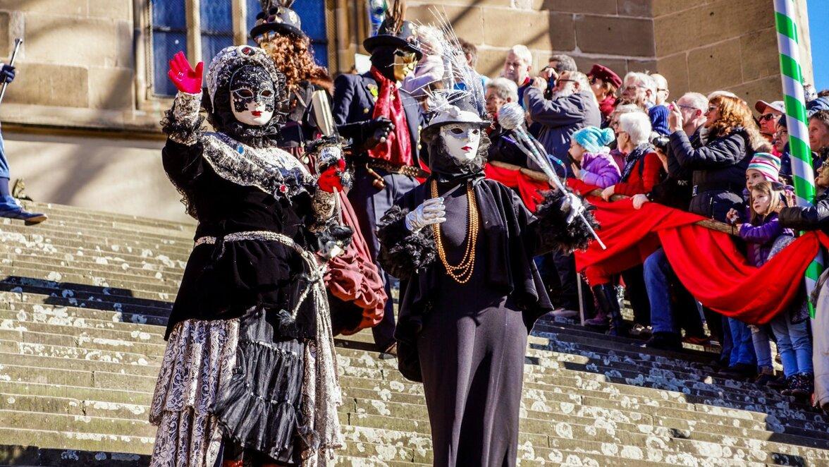 Fasching in Schwäbisch Hall: Kostüme bei Hallia Venezia