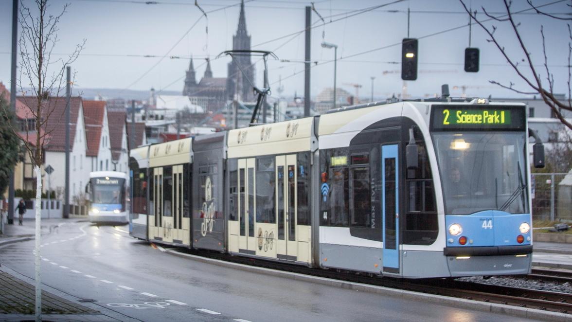 Straßenbahn In Ulm Achtung Schienenersatzverkehr So Fahren Linie