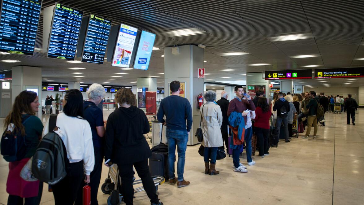spanien flughafen streik