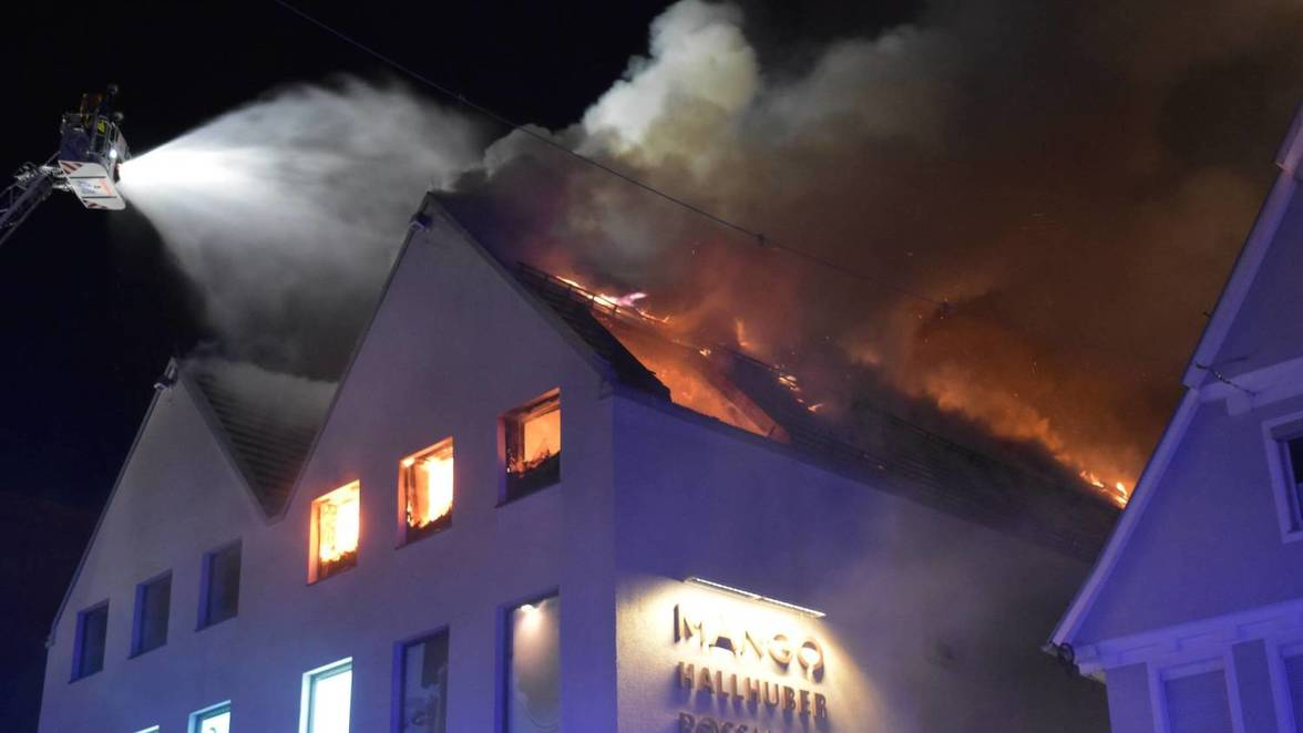 Brand In Aalen: Nach Dem Feuer Im Enchilada: Wann Wird Der