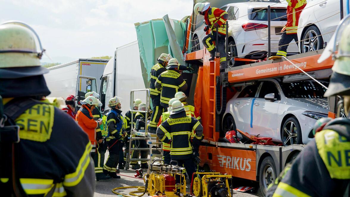 Unfall A8 Sindelfingen Heute