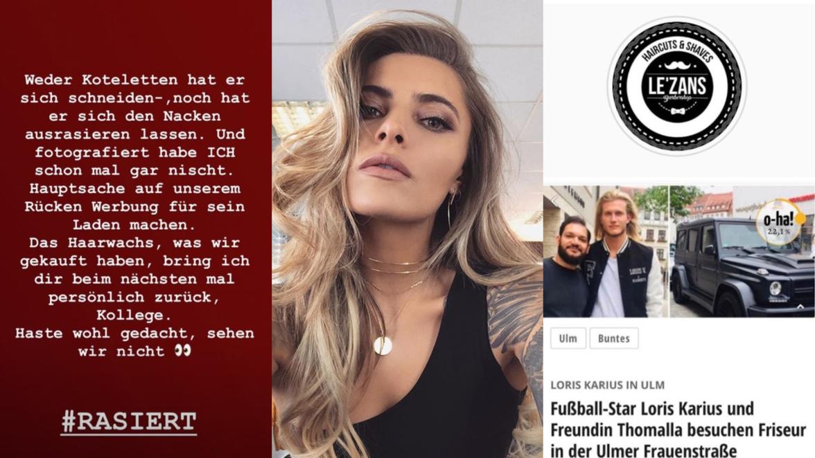 Loris Karius In Ulm Sophia Thomalla Uber Friseur Besuch Alles Nur