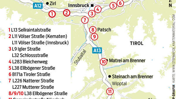 Fahrverbote In Osterreich Wieso Durchreisende In Tirol Die
