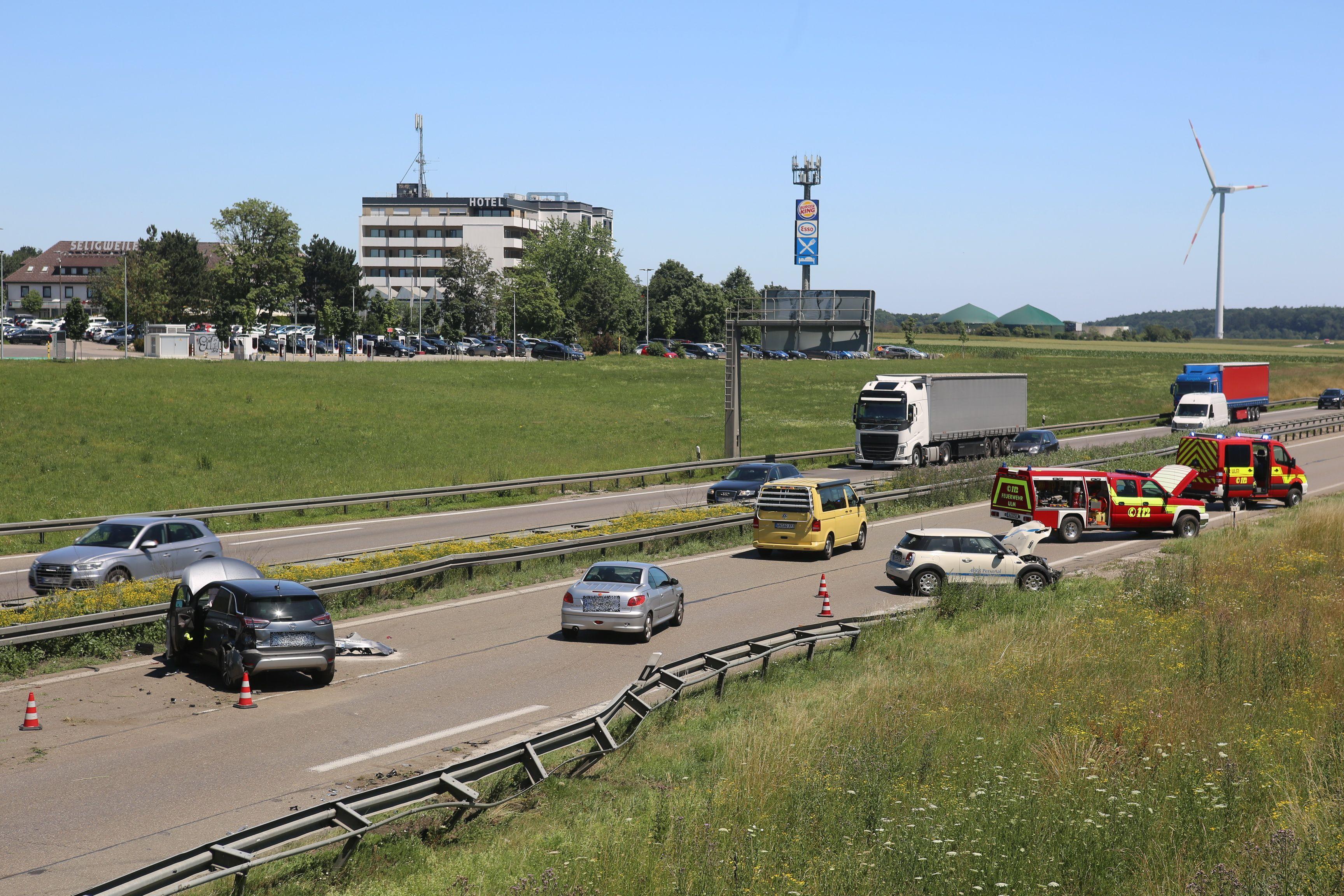 Stau A8 Stuttgart Ulm
