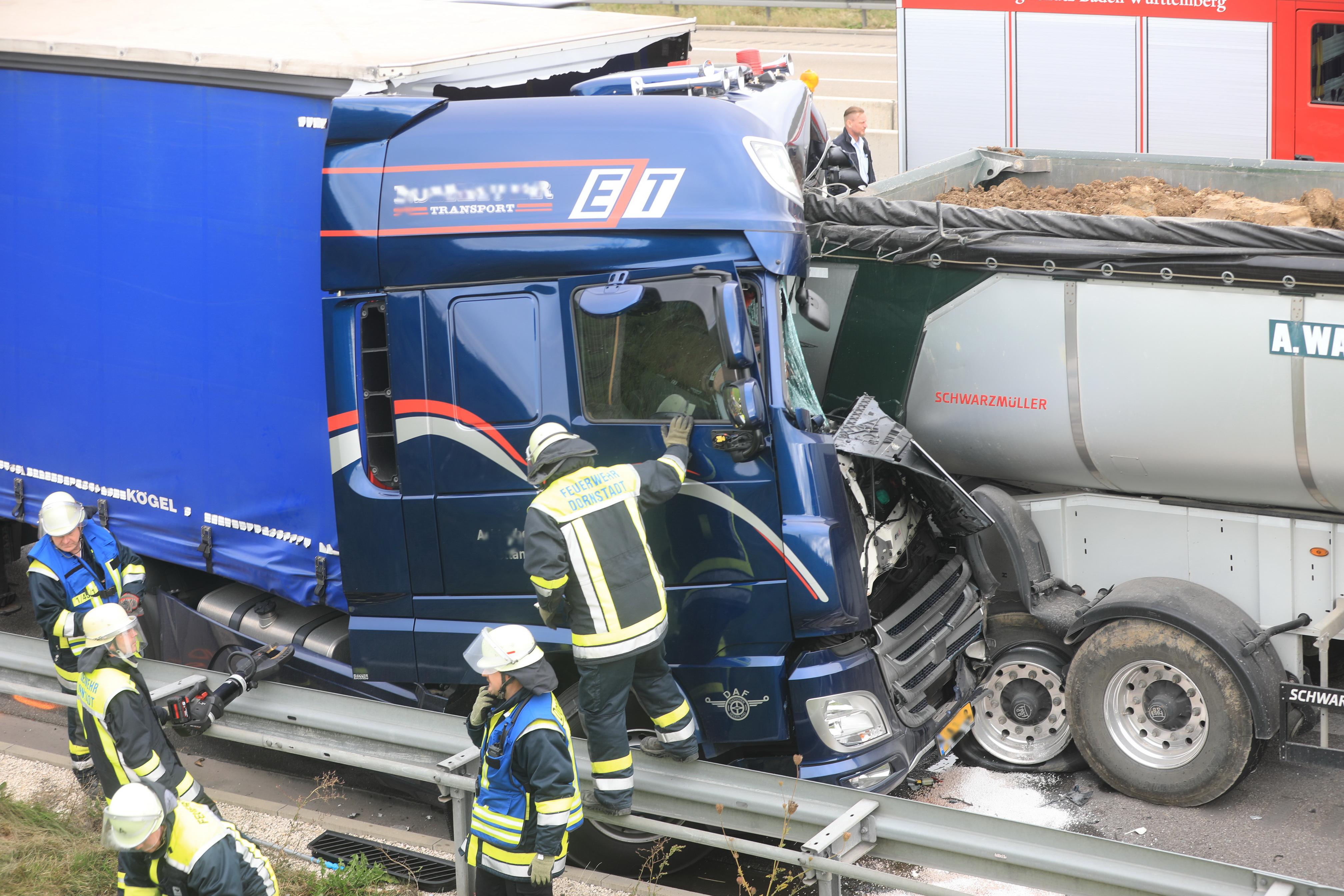 A8 Unfall Gestern