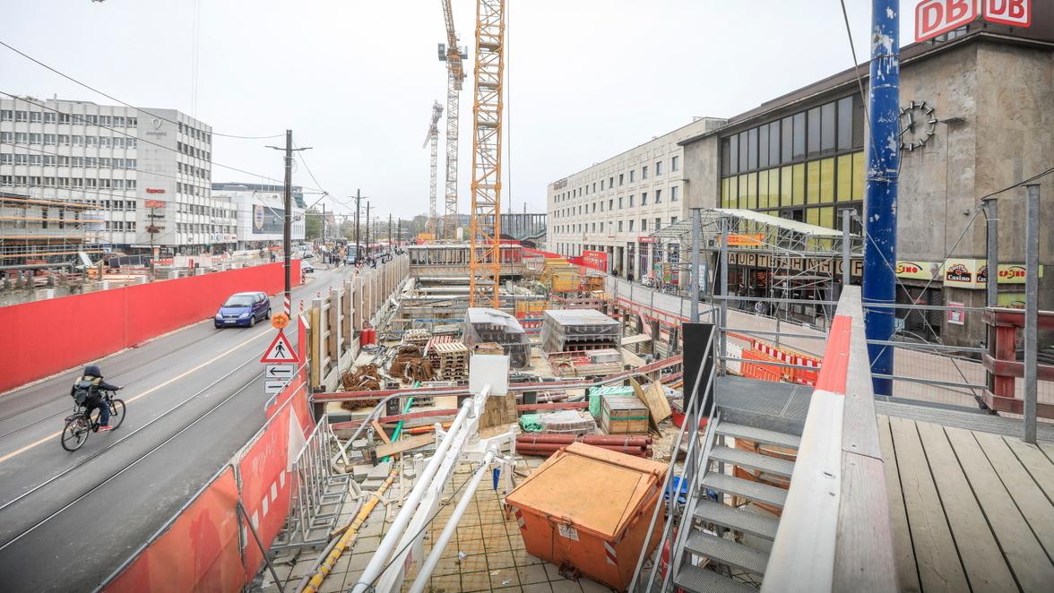 Baustelle Ulm