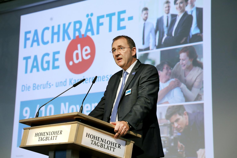 SHO-Fachkräftetage in Crailsheim: Arbeitgeber trifft Arbeitnehmer - SWP