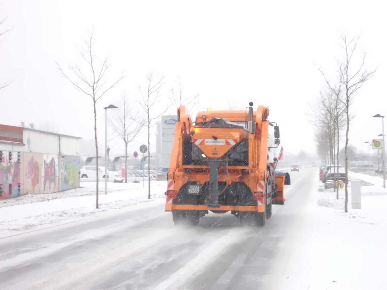 Winterdienst in Crailsheim: Stadt will Verkehrsfluss aufrechterhalten - SWP