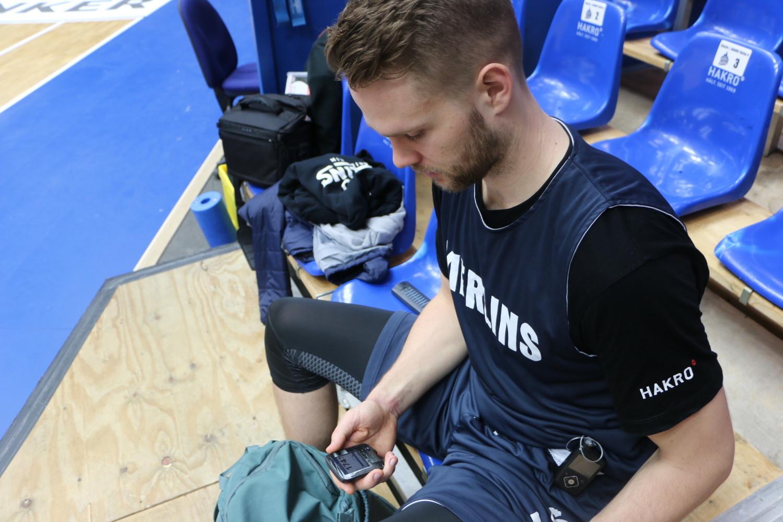Hakro Merlins Crailsheim: Fabian Bleck: Die Insulinpumpe als ständige Begleiterin - SWP