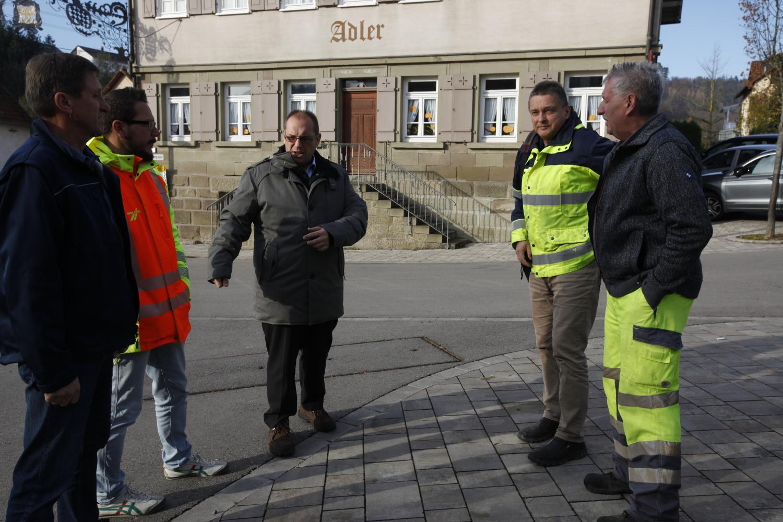 Bauarbeiten in Sulzbach-Laufen: Eisbachstraße wird fit für die Zukunft - SWP