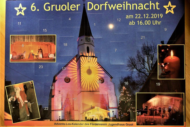 Adventskalender-Aktion in Haigerloch Gruol: Jeden Tag öffnet sich ein Türchen fürs neue Jugendhaus - SWP
