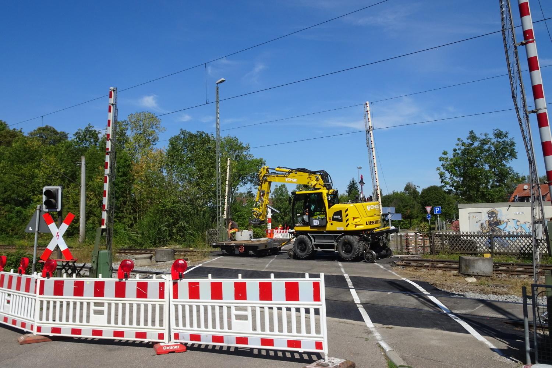 Bauarbeiten Ilshofen: Zwei Bahnübergänge gleichzeitig gesperrt - SWP