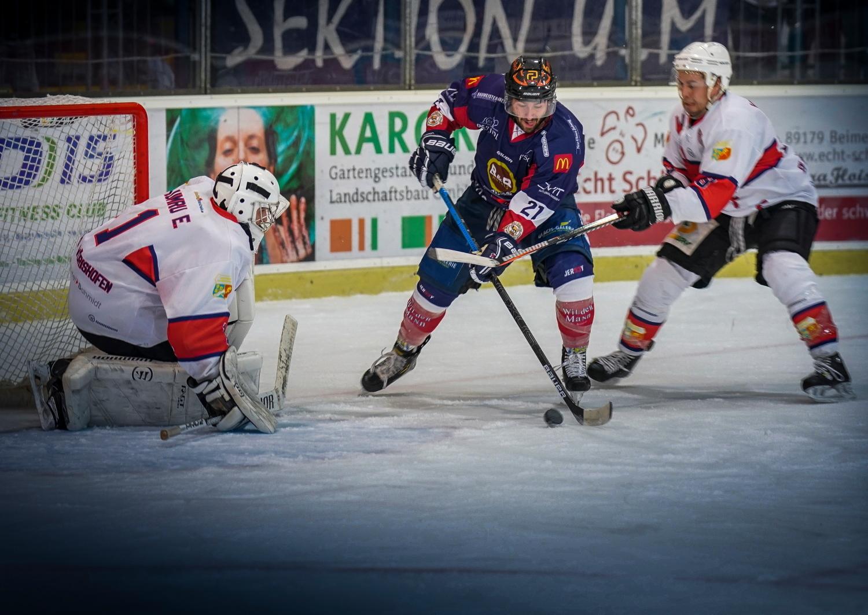 Ulm/Neu-Ulm Devils auf Erfolgskurs: Ungeschlagener Eishockey-Landesligist Devils feiert zwei Siege - SWP
