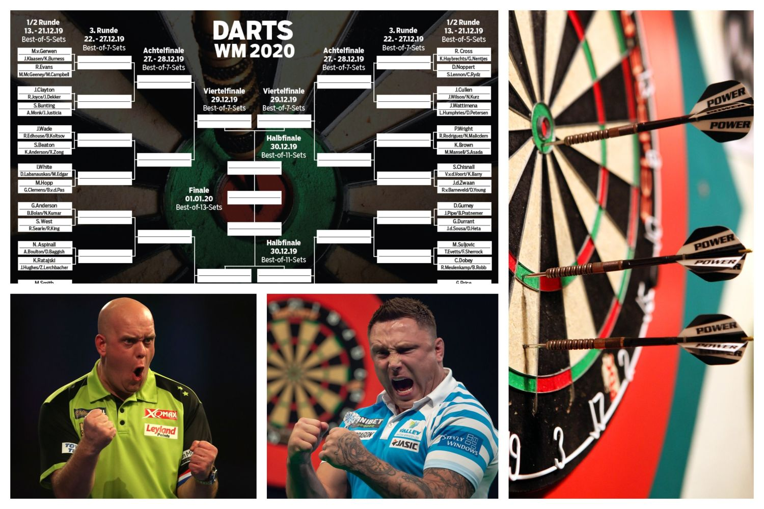 Tickets Dart Wm 2020