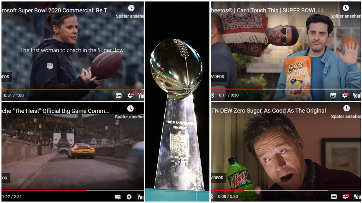 Super Bowl Werbung