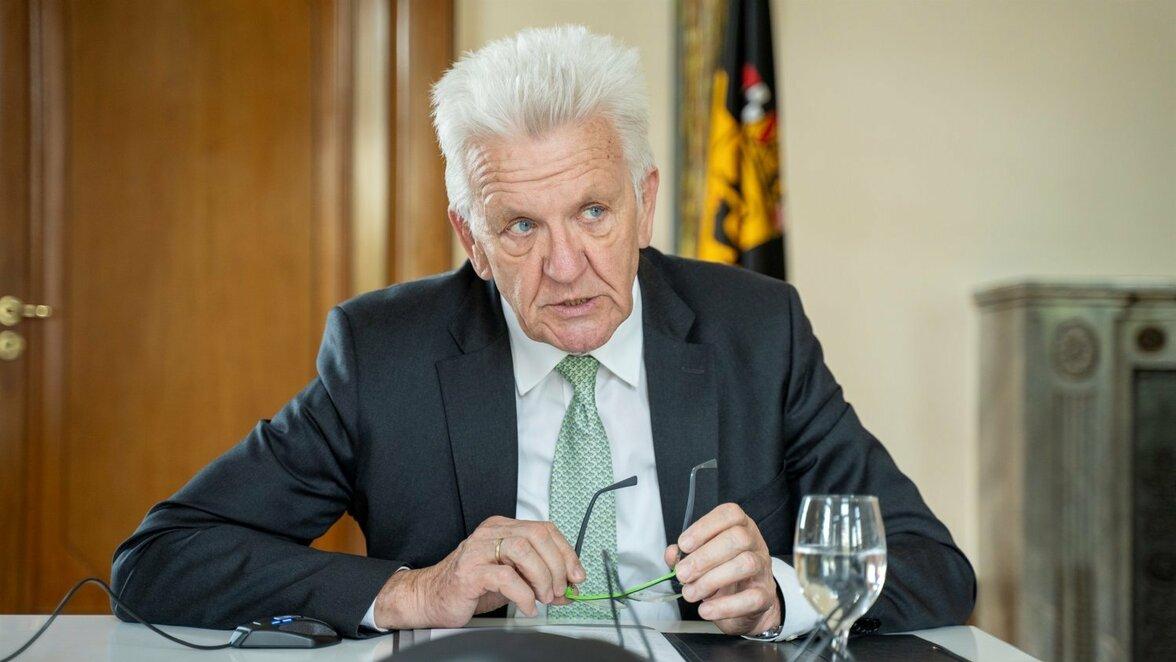 Winfried Kretschmann Corona