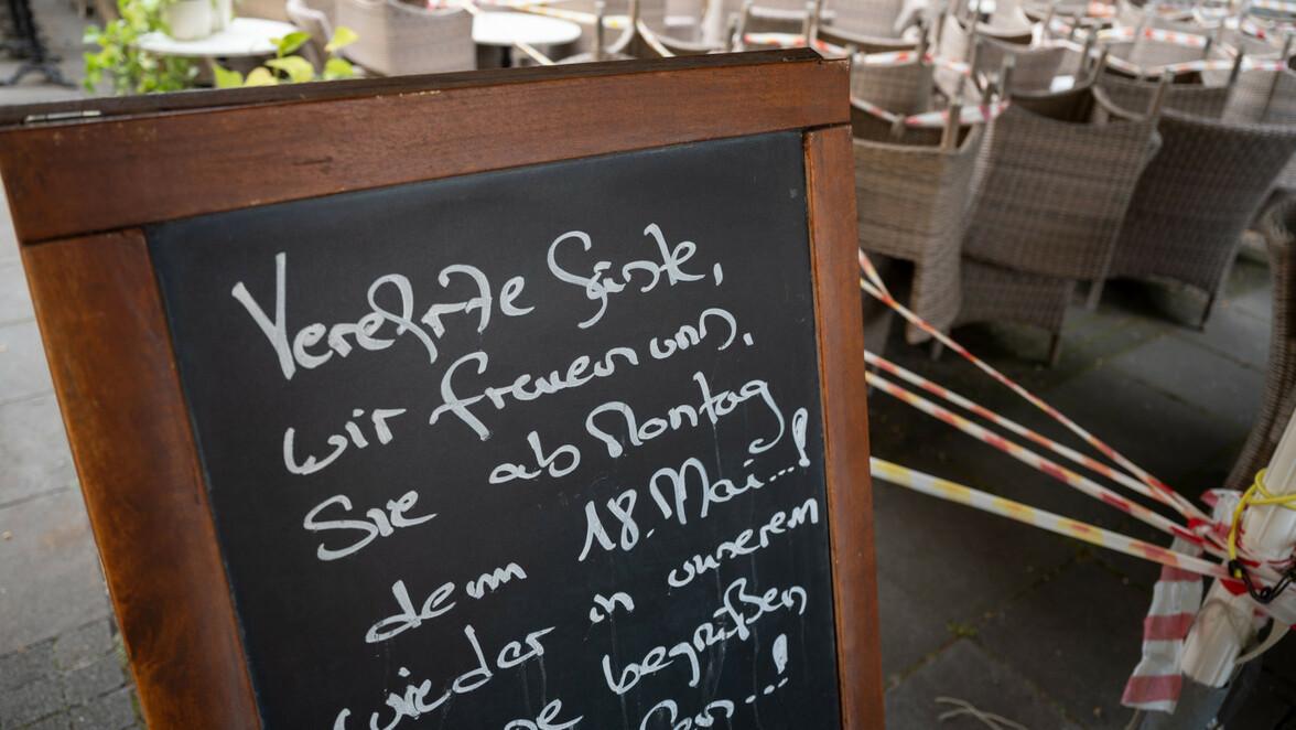 Baden Württemberg Corona Gastronomie