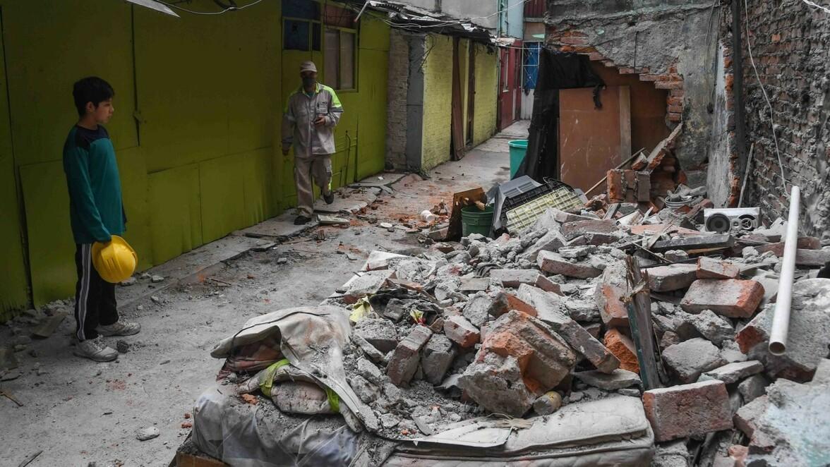 Erdbeben Mexiko Schweres Erdbeben Erschuttert Suden Von Mexiko Mindestens Sechs Tote Sudwest Presse Online