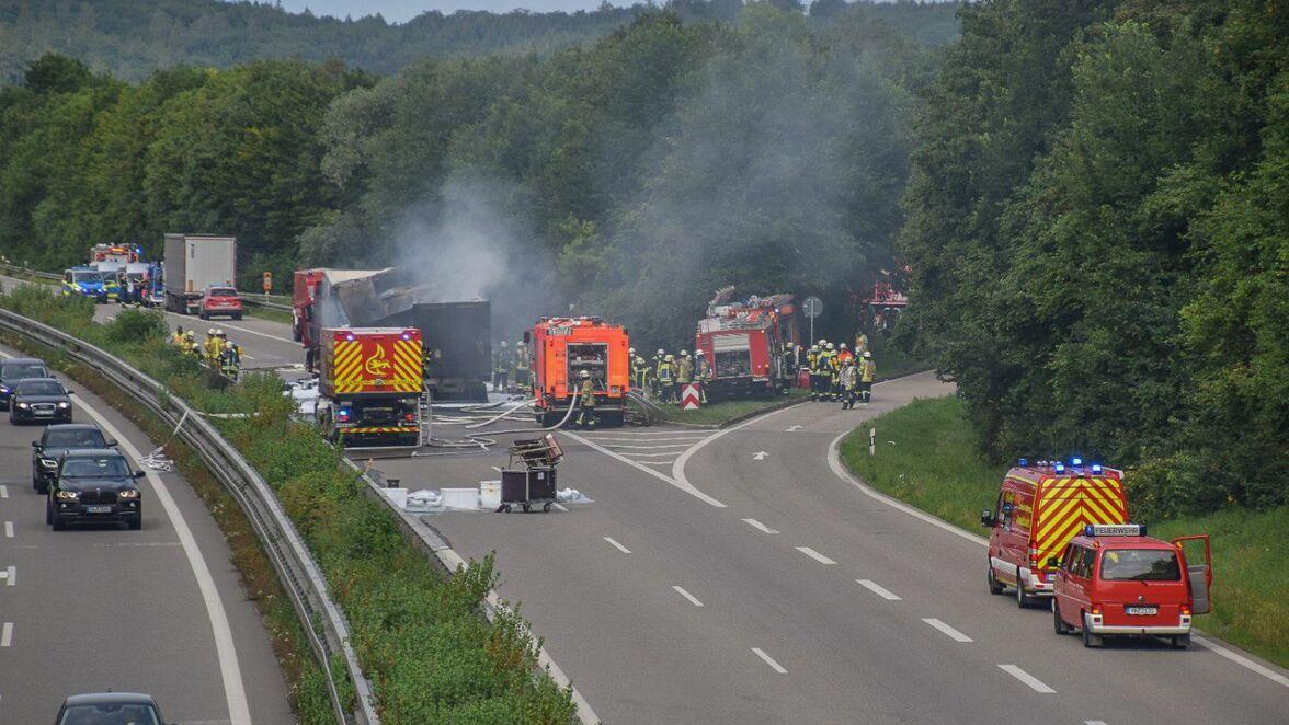 Lkw Unfall A6 Heute