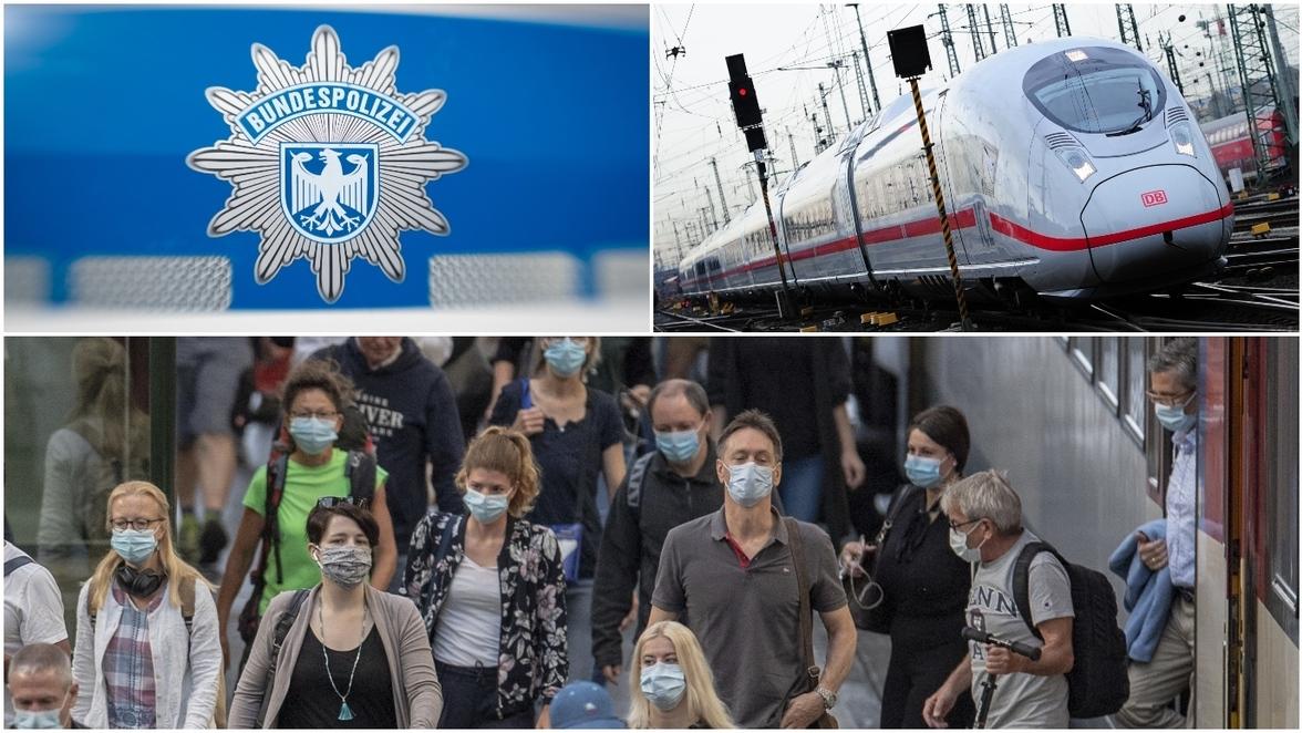 Kontrolle Deutsche Bahn
