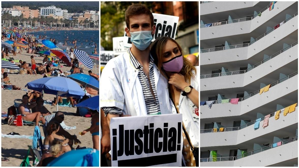 Spanien Neuinfektionen