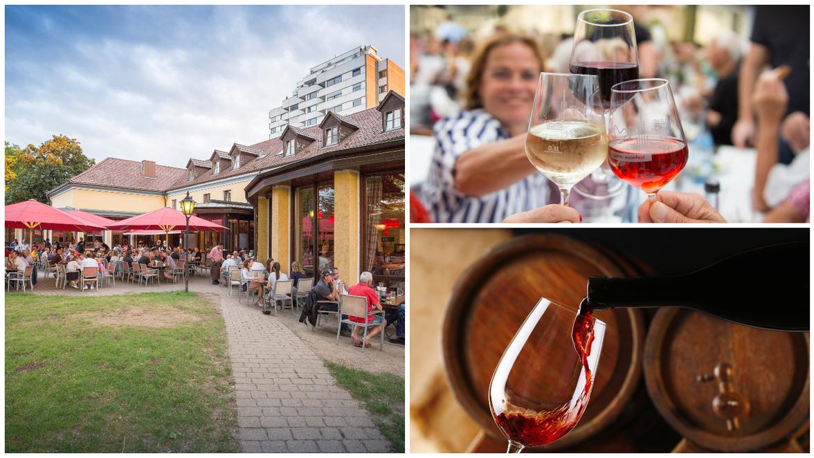 Biergarten Neu Ulm Hommage Ans Weinfest Pauls Weingarten Eroffnet Fur Zwei Wochen Sudwest Presse Online