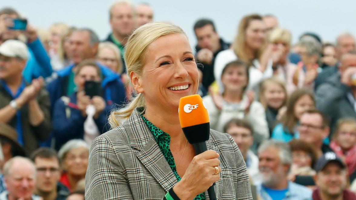 Andrea Kiewel Zdf Fernsehgarten Heute
