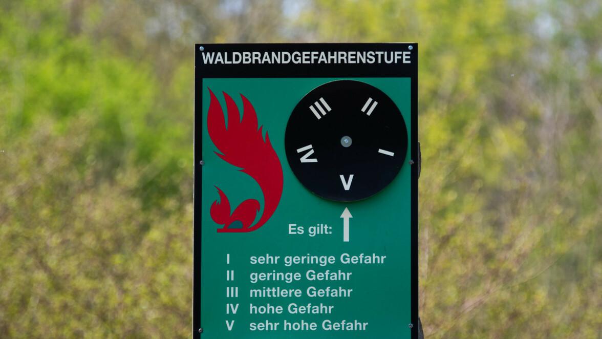 Waldbrandgefahr Baden Württemberg