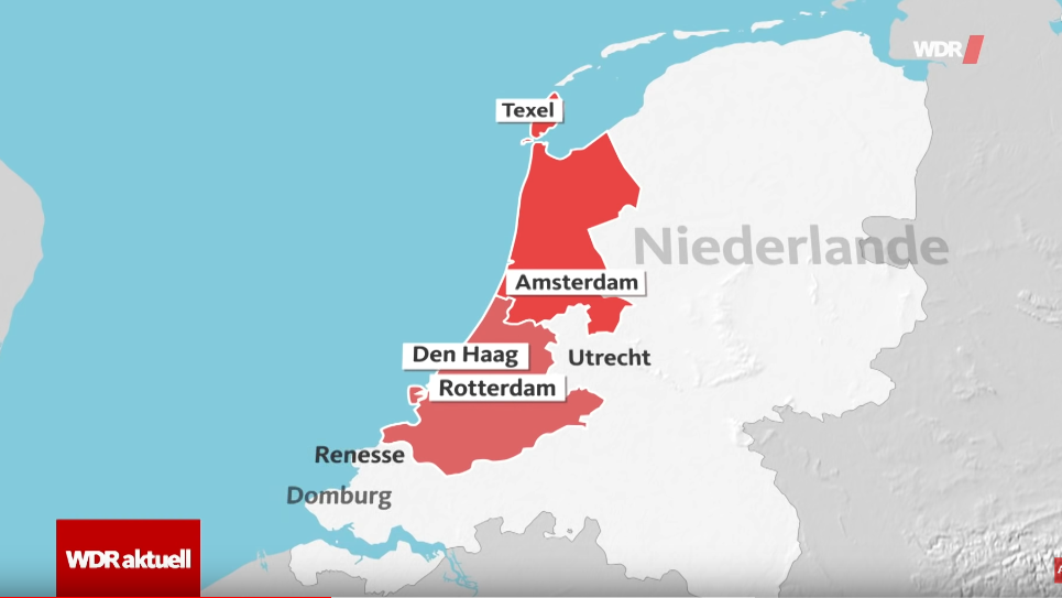 Corona Karte Niederlande
