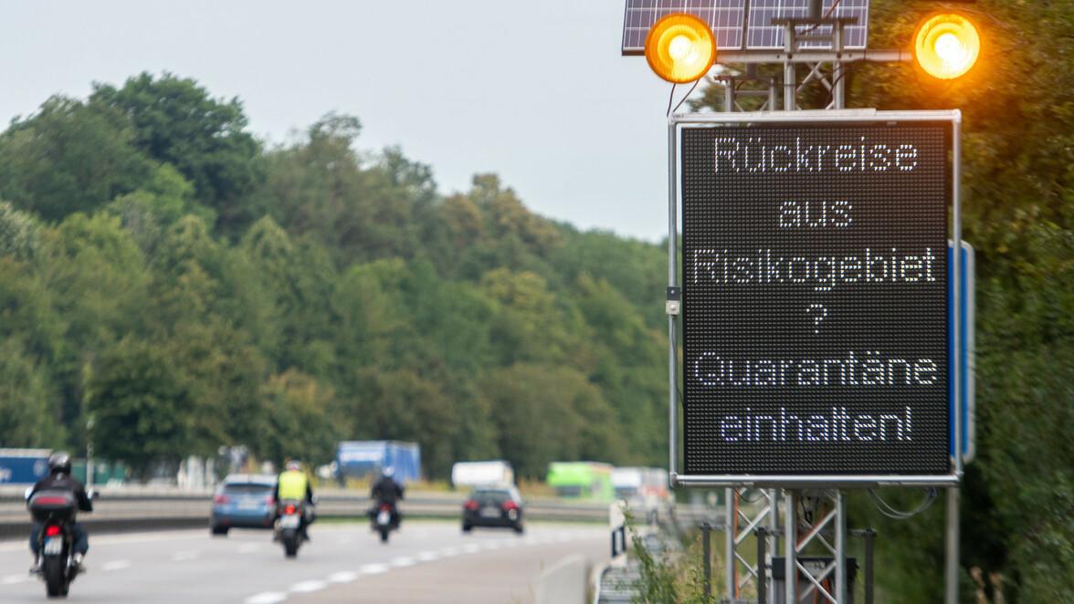 Aree pericolose in Europa - questo vale in Francia, Austria e Co.