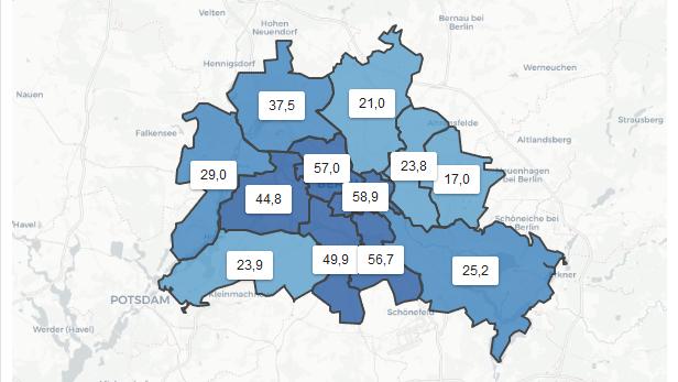 Neuinfektionen Berlin Bezirke