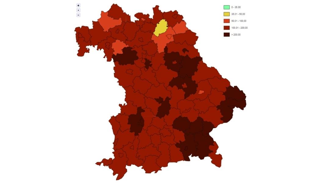 Corona Bayern Aktuelle Zahlen Lgl