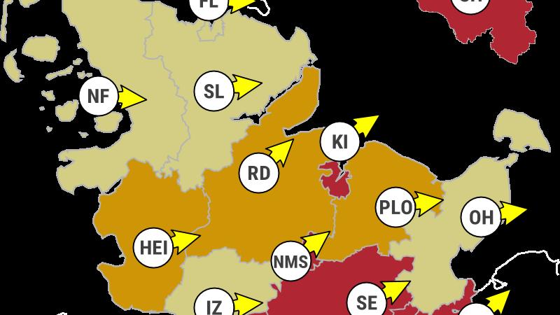 Corona Schleswig Holstein Schleswig Holstein Als Letztes Bundesland Coronavirus Risikogebiet Die Aktuellen Zahlen Sudwest Presse Online