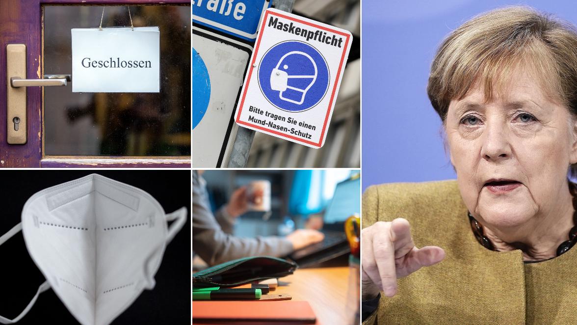 Corona Gipfel 19.1.: Lockdown, Maskenpflicht, Treffen, Homeoffice: Die  Beschlüsse von Merkel und den Ministern | Südwest Presse Online