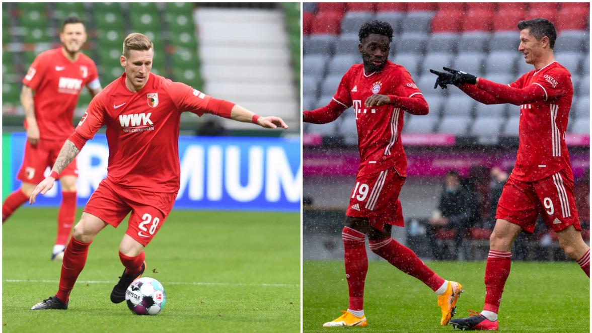 Augsburg Gegen Bayern 2021
