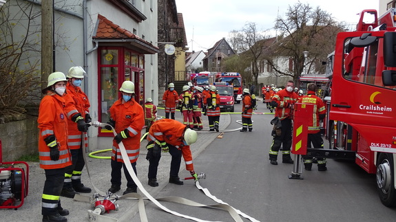Feuer in Bäckerei in Lendsiedel